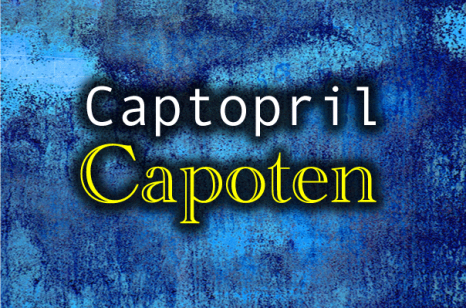 captopril capoten