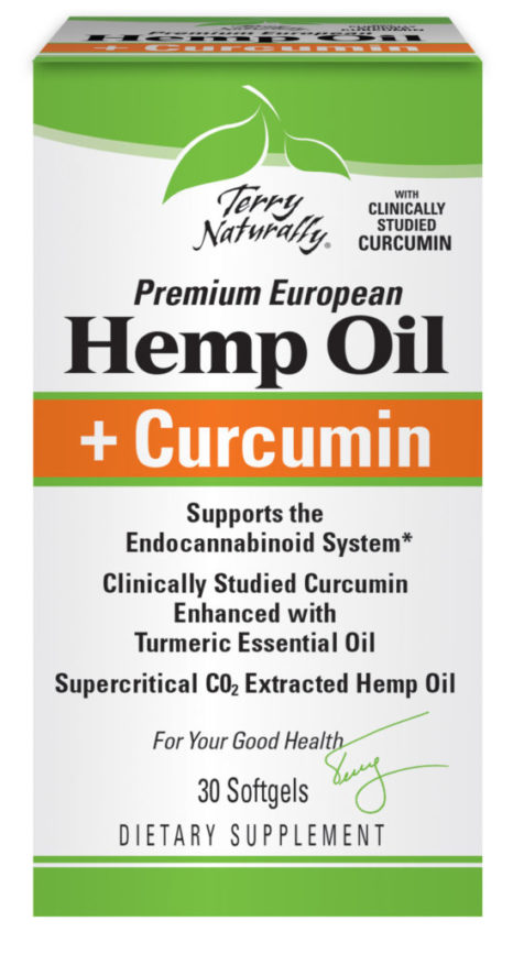 Hemp Oil and Curcumin